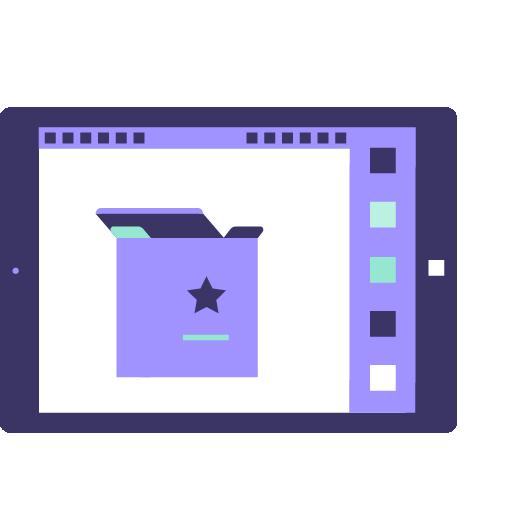 icono de servicio de comercio electrónico