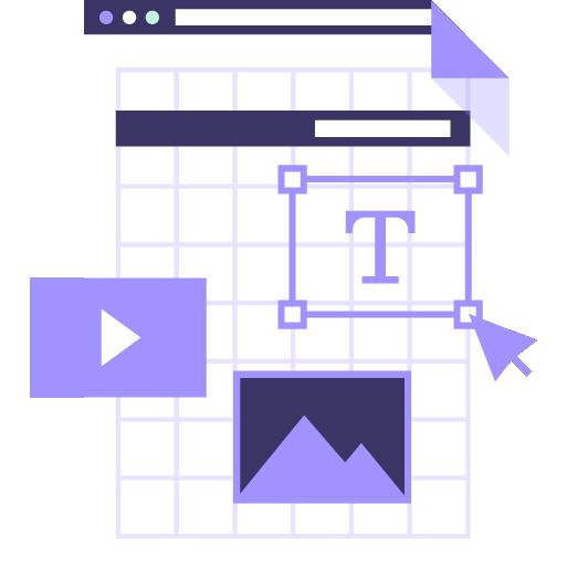 icono de servicio de marketing digital y posicionamiento en buscadores